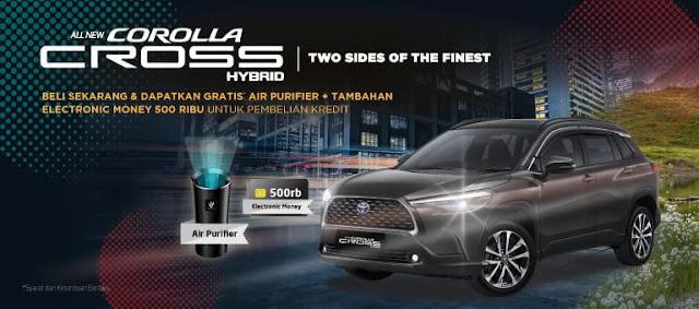 Design interior Toyota Corolla Cross 2020