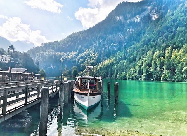 Lago do Rei em Munique