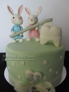 bolo aniversário dentista doces opções bragança