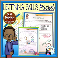 Listening Skills Character Education