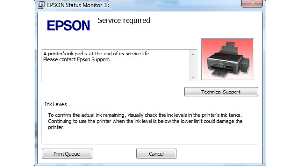Epson M200 Service Required