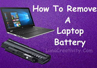 How To Remove A Laptop Battery