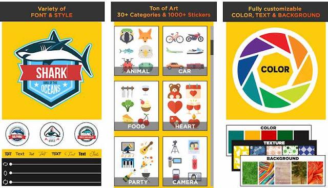 Logo Maker 2019 - Aplikasi Membuat Logo Terbaik di Android