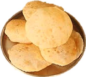 farali rajgara flour poori for navaratri upwas