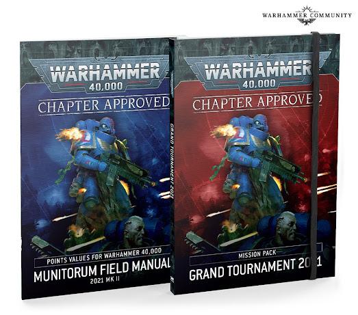 Aprobado por el Capítulo y Manual de Campo del Munitorum 2021 Mk II