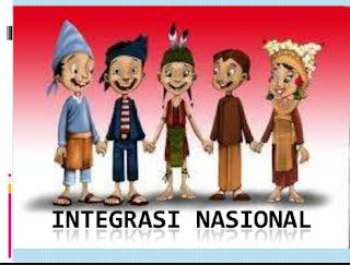 Pengertian Integrasi Nasional Di Indonesia