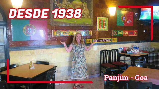 Bar & Restaurante Godinho Panjim Goa