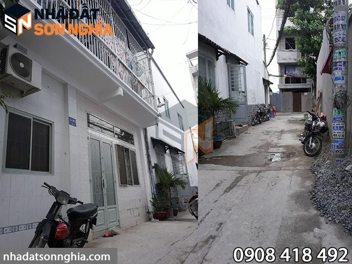Nhà đường số 59 phường 14 quận Gò Vấp