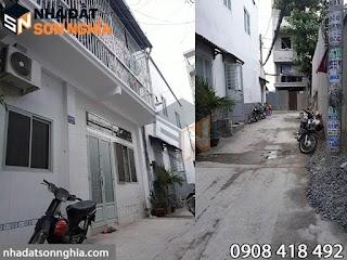 Bán nhà đường số 59 phường 14 quận Gò Vấp - 6,4x4,4m giá 2,55 tỷ ( MS 050 )