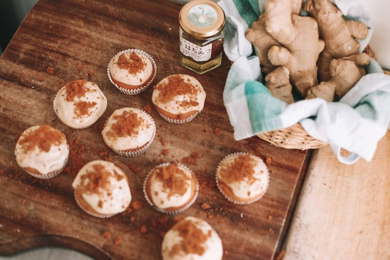 Rêveuse Recipe: Ginger Honey Cupcakes