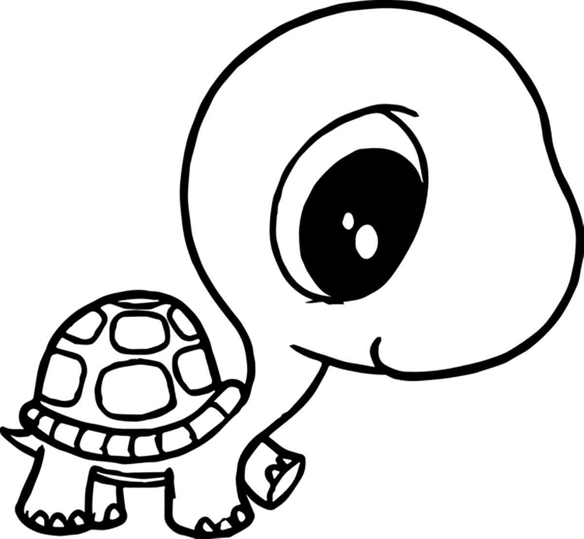 Riscos Graciosos Cute Drawings Riscos De Tartarugas