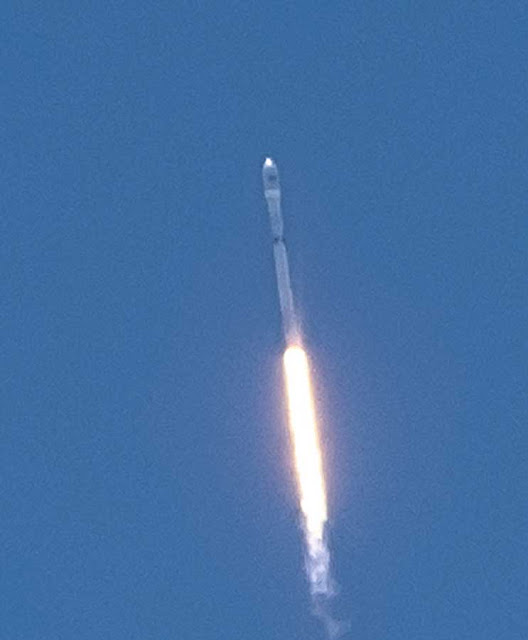 SpaceX Falcon 9 launch from Vandenberg on June 25 (Photo courtesy OCA Dave Kodama)
