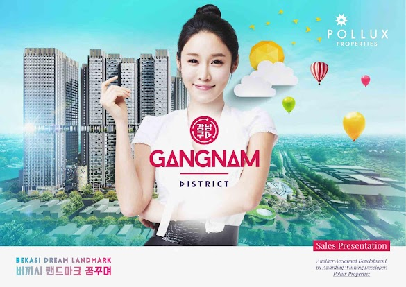 Gangnam District, Hunian Modern Baru di Pusat Bekasi