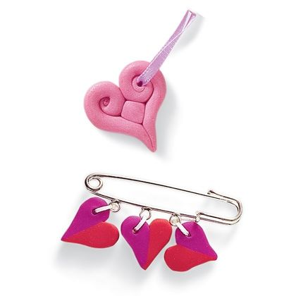 Love Bead Pins