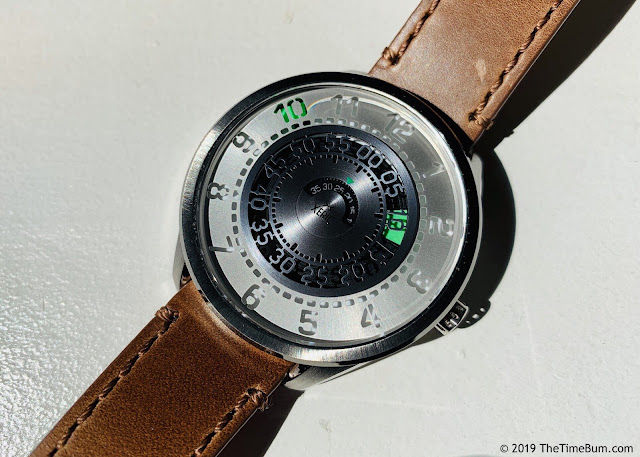 Xeric Cypher Automatic Tritium Silver Green
