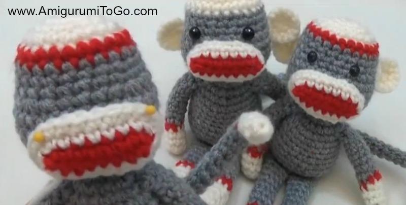 Amigurumi Crochet Sock Monkey : Crochet Along Amigurumi Sock Monkey ~ Amigurumi To Go