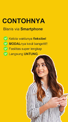 bisnis melalui smartphone