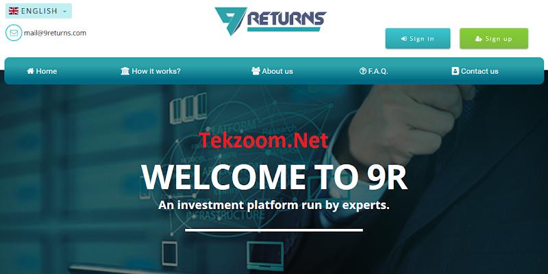 [SCAM] Review 9Returns : Lãi 2.5 - 8% hằng ngày - Đầu tư tối thiểu 10$ - Thanh toán Manual