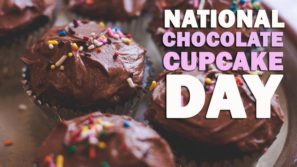 National Chocolate Cupcake Day Wishes Beautiful Image