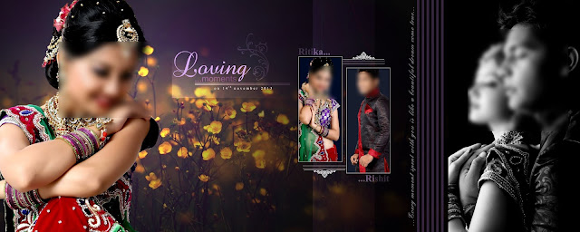 Wedding album psd design free download