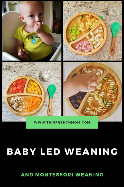 Baby-Led Weaning and Montessori Weaning
