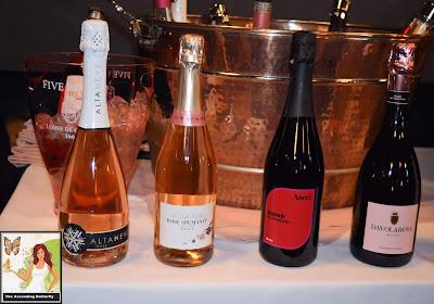La Dolci Colline Rosé Spumante Brut, Aneri Rosé  Di Sorbara, Davolarosa Brut Rosé Feudi del Pisciotto