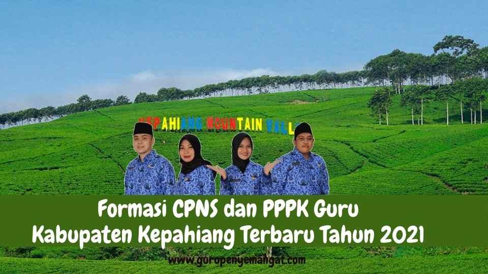 Formasi CPNS dan PPPK Guru Kabupaten Kepahiang Terbaru Tahun 2021