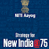 NITI Aayog Strategy for New India pdf Book for Civil Services Exams