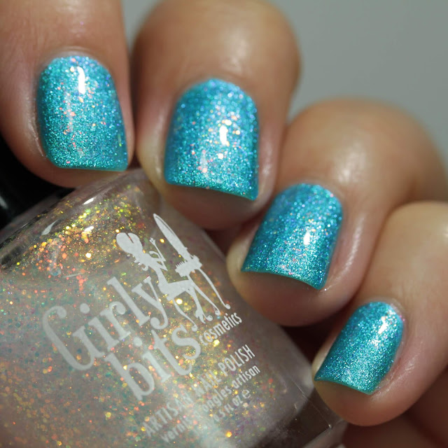 Girly Bits Lorraine swatch by Streets Ahead Style