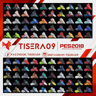 Bootpack Vol. 8 For PES 2018 PC by Tisera09
