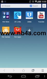 تحميل تطبيق UC Browser Mini