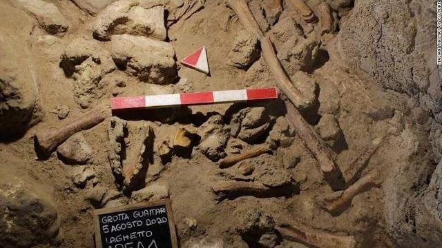 Σπουδαία αρχαιολογική ανακάλυψη: Οστά εννέα Νεάτερνταλ βρέθηκαν σε σπήλαιο στην Ιταλία