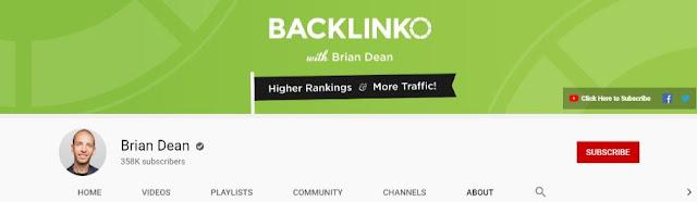 backlinko youtube channel best seo videos brian dean