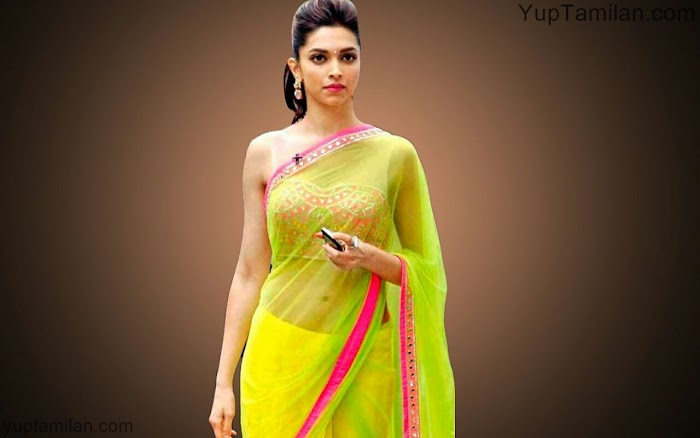 Deepika Padukone Hottest Saree Pictures|Gorgeous Saree wearing Photos