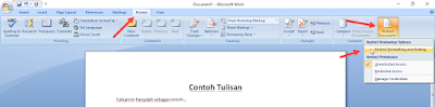 Melindungi File Word Agar Tidak Diubah