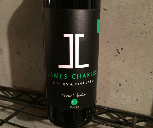 James Charles 2015 Petit Verdot