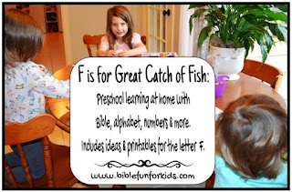 http://www.biblefunforkids.com/2015/10/preschool-alphabet-f-is-for-great-catch.html
