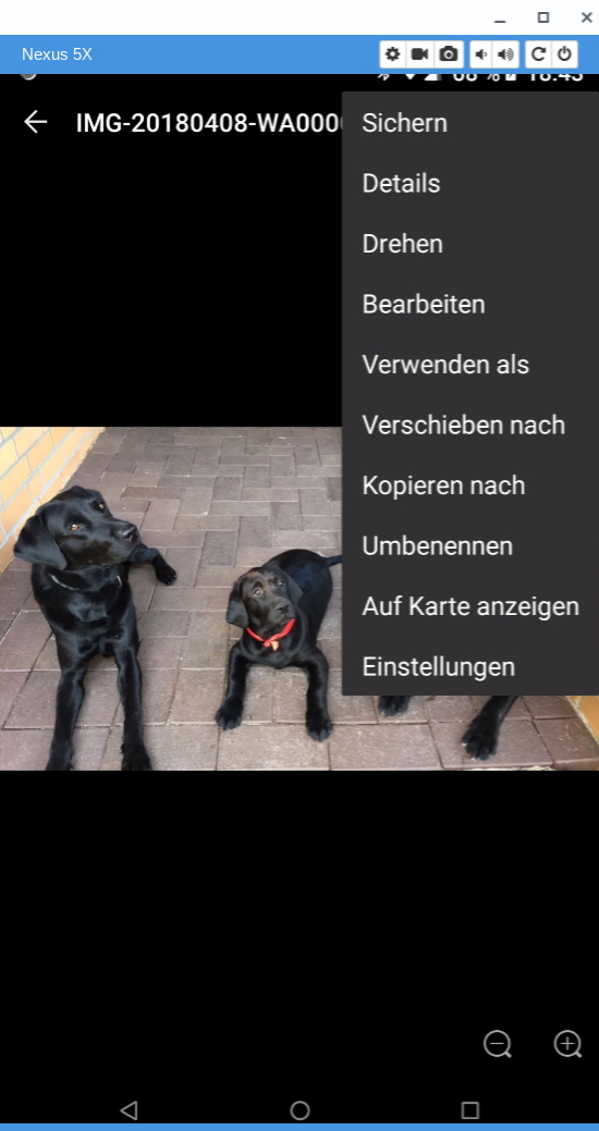 Quickpic App Anleitung