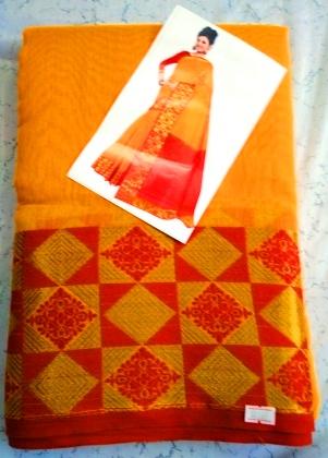 Cotton silk saree-12