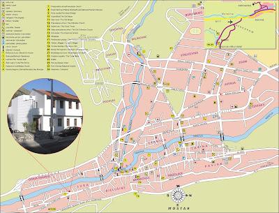 Plano de Mostar, Bosnia y Herzegovina