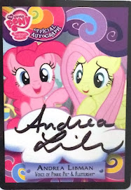 MLP Andrea Libman - Pinkie Pie & Fluttershy Series 3 Trading Card