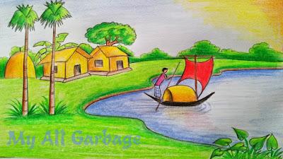 ৭ম শ্রেণি : চারু ও কারু কলা : ৮ম সপ্তাহ