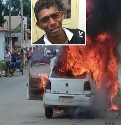 Maranhense toca fogo na casa e no carro achando que ganhou na Mega Sena