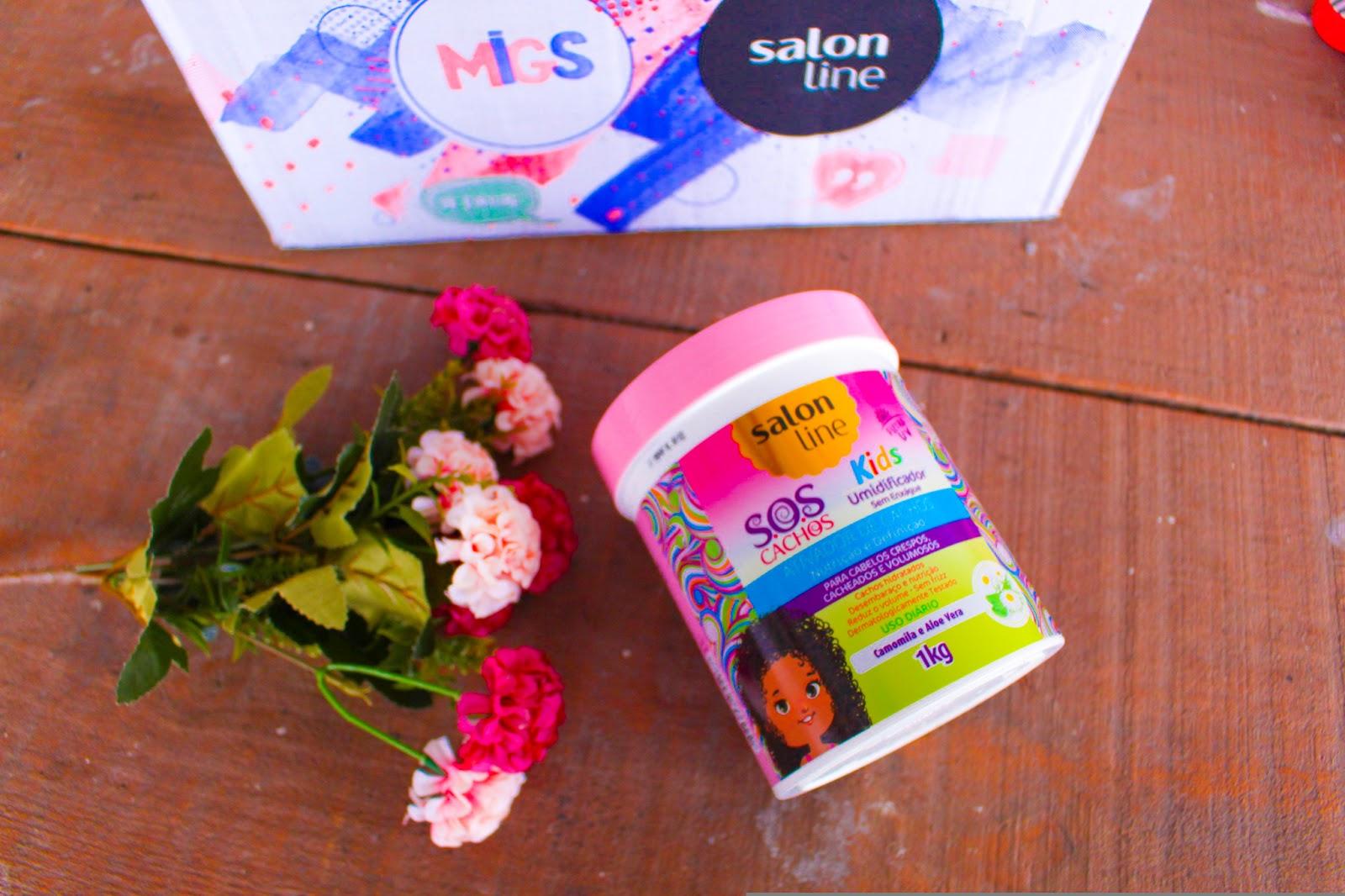 Recebidos do mês de Agosto da Salon Line #Migs