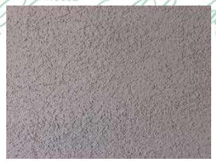Gambar 4.8. Tampak Depan Pasangan Dinding Diplester Kasar