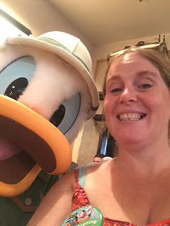 Meeting Donald Duck, Animal Kingdom Walt Disney World