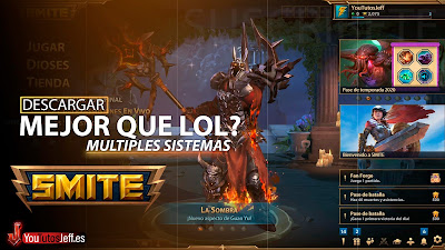 Mejor que League of Legends? Descargar SMITE para PC GRATIS