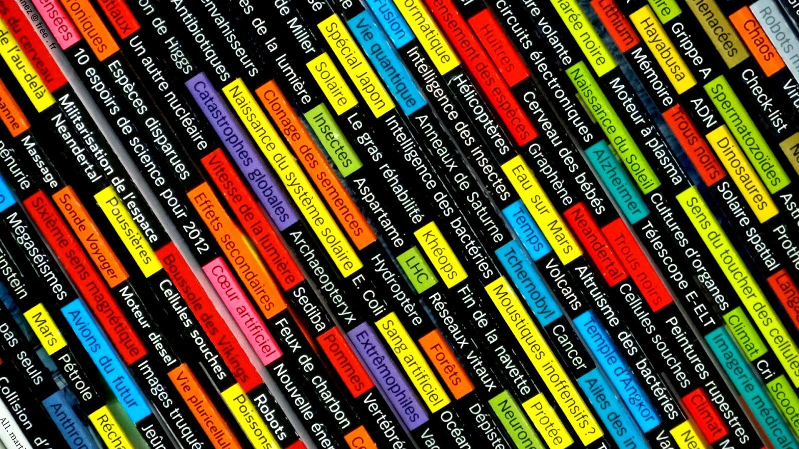 Fondo De Pantalla Abstracto Libros De Ciencia