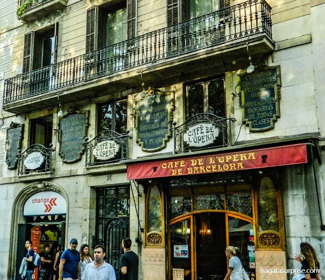 Café de l'Ópera, Barcelona